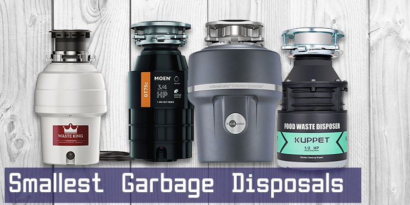 Smallest Garbage Disposal