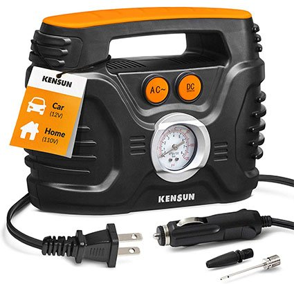 Kensun AC-DC Power Supply Portable Air Compressor Pump