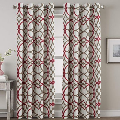 H.VERSAILTEX Thermal Insulated Blackout Curtains