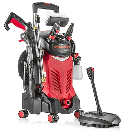 Powerhouse International Electric High Power- Pressure Washer (Red-Platinum Edition)