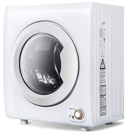 Sentern 2.65 Cubic Foot Compact Laundry Dryer