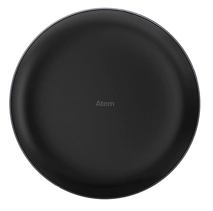 IQAir Atem Desk Personal Air Purifier (Black)