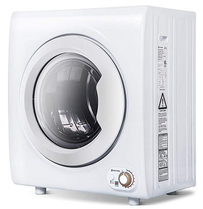 Sentern 2.65 Cu.Ft Compact Laundry Dryer