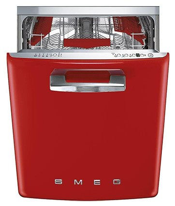 Smeg 24-in 50s Retro Style Fully Integrated Dishwasher