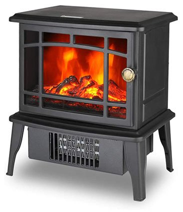 Climate Choice Mini Fireplace