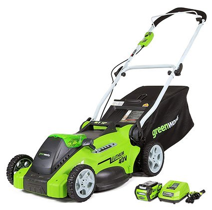 Greenworks G-MAX 40V Cordless Lawn Mower