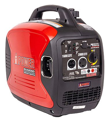 A-iPower SUA2000iV 2000-Watt Portable Inverter Generator