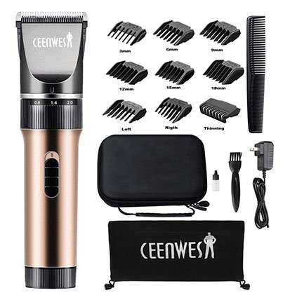 Ceenwes Hair Clippers Cordless Quiet Hair Trimmers