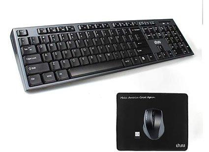 Uhuru Wireless Keyboard and Mouse Combo