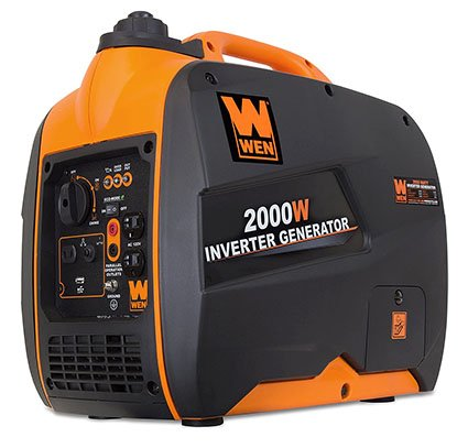 WEN 56200i 2000-Watt Gas Powered Portable Inverter Generator