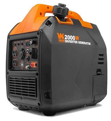 WEN 56203i Super Quiet 2000-Watt Portable Gas Generator