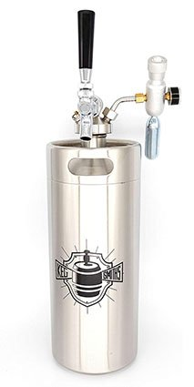 Keg Smiths 128 oz. Portable Keg Draft System