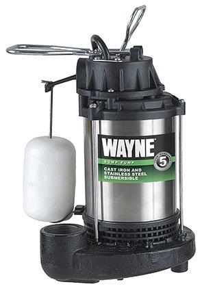 Wayne Submersible Cast Iron Sump Pump (CDU980E)