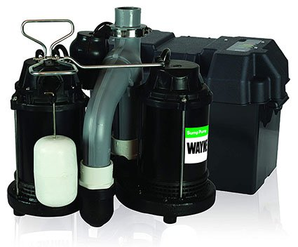 Wayne Upgraded Sump Pump with Battery Backup