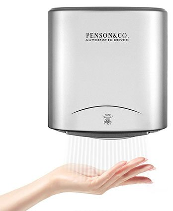 Penson and Co. Automatic Commercial Hands Free Electric Hand Dryer