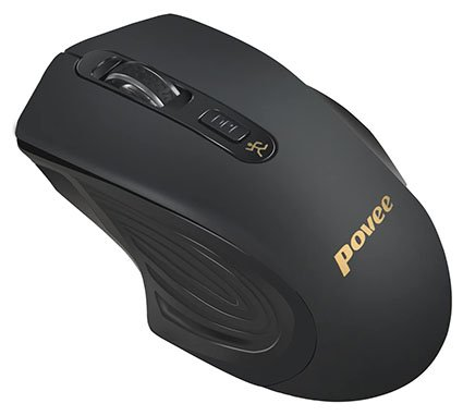 Povee Silent Clickless Wireless Gaming Mouse