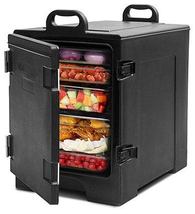 COSTWAY End-Loading Portable Food Warmer