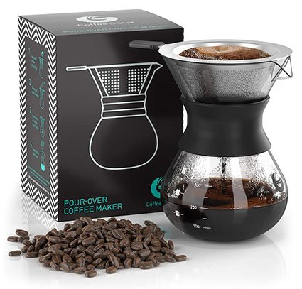 Coffee Gator Paperless Pour-Over Coffee Maker