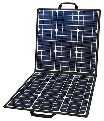 FlashFish Foldable 50W 18V Portable Solar Panel