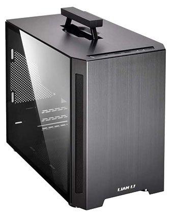Lian Li TU 150-WX Black Aluminum Mini-ITX Computer Case