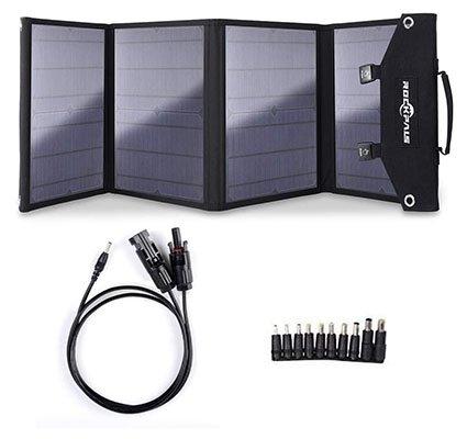 Rockpals 100W Foldable Solar Panel