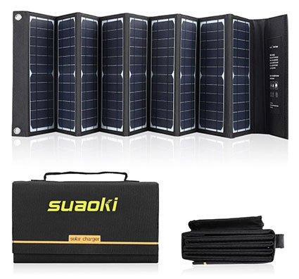 SUAOKI Solar Charger 60W Portable Solar Panel