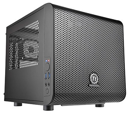 Thermaltake Core V1 SPCC Mini ITX Case