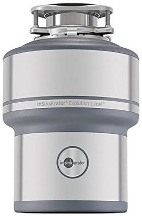InSinkErator Evolution Excel 1.0 HP Continuous Feed Garbage Disposal