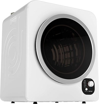 hOmeLabs 3.2 Cubic Foot Compact Laundry Dryer